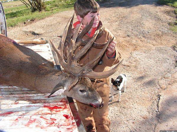 41 point buck from Oklahoma