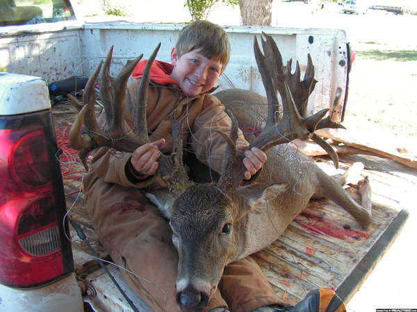 41 point buck from Oklahoma