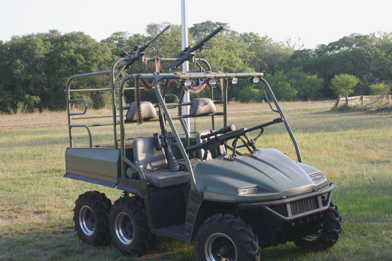 Texas Hog Hunting Machine