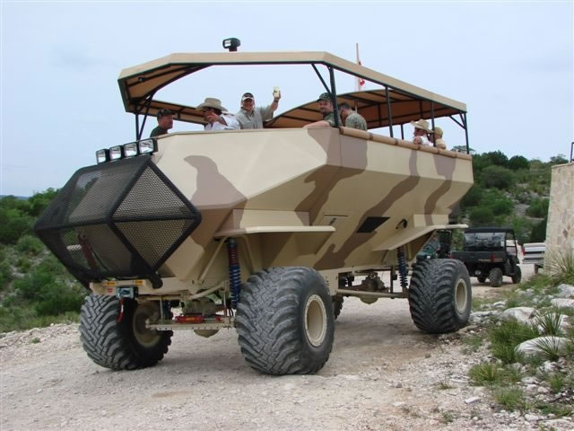 Texas Deer Hunting Machine
